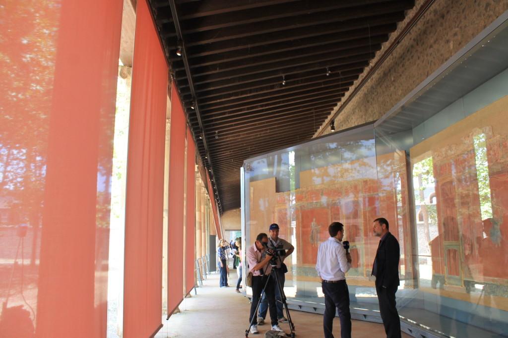 Pompei inaugurata la palestra grande esposti gli for Sud arredi nocera superiore