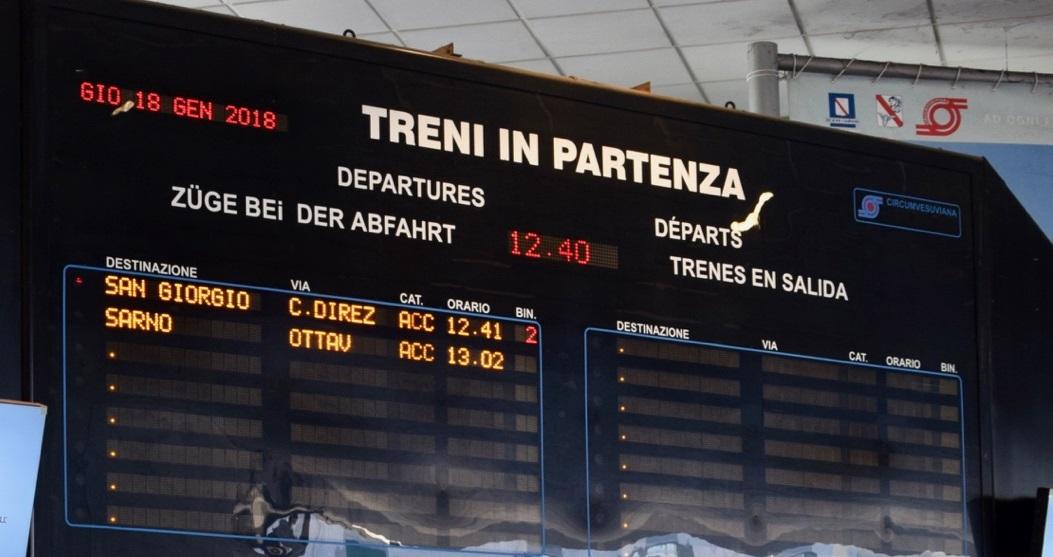 Eav: Contratto da 96 mln per la fornitura di 10 nuovi treni