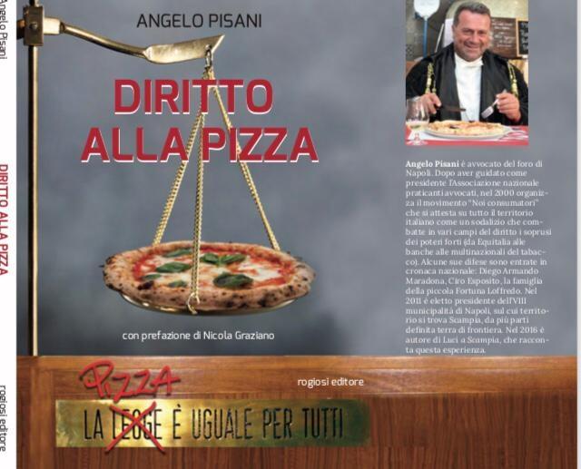 """""""Diritto alla Pizza"""": Angelo Pisani racconta la pizza come diritto universale"""