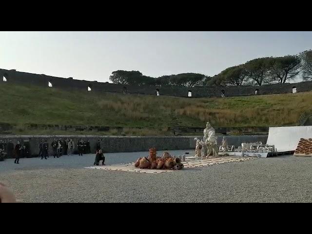 Il metodo esplosivo di Cai Guo-Qiang. Fino a maggio disseminate nel MANN le opere realizzate nell'anfiteatro di Pompei