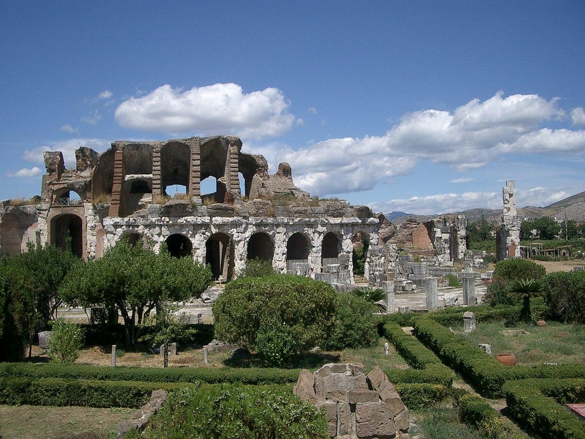 Archeotreno arriva a Capua