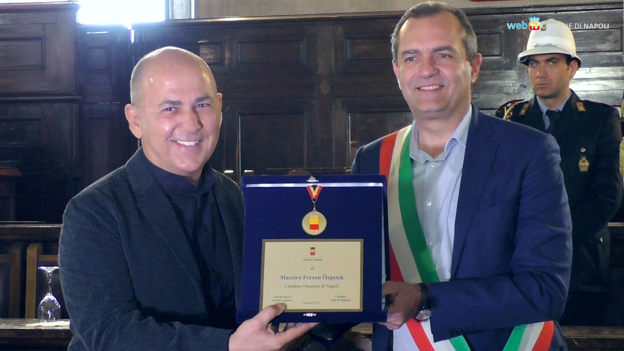 Ferzan Özpetek è cittadino di Napoli