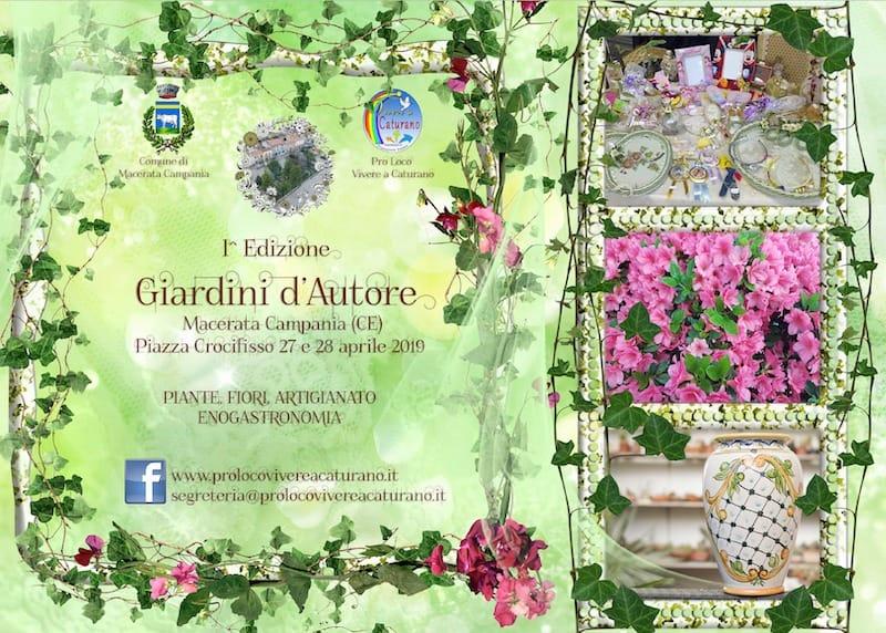 "Macerata Campania: al via ""Giardini d'Autore"""