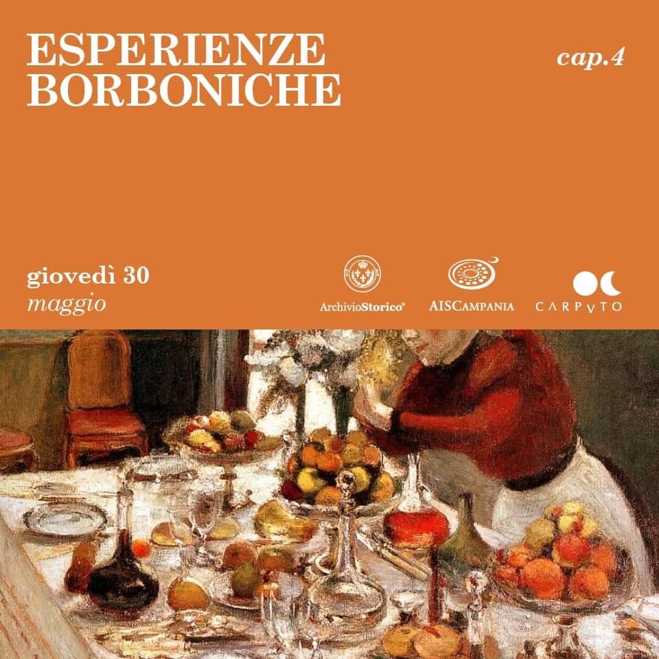 """L'Estate dei Borbone: all'Archivio Storico il quarto e ultimo appuntamento della kermesse """"Esperienze Borboniche"""""""