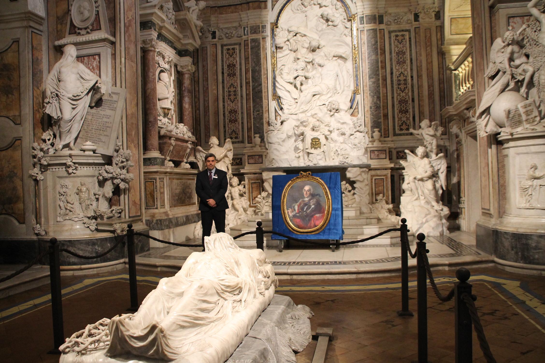 A Cappella Sansevero si festeggia il compleanno del Principe: biglietti ridotti per vedere il nuovo ritratto di Raimondo di Sangro acquisito