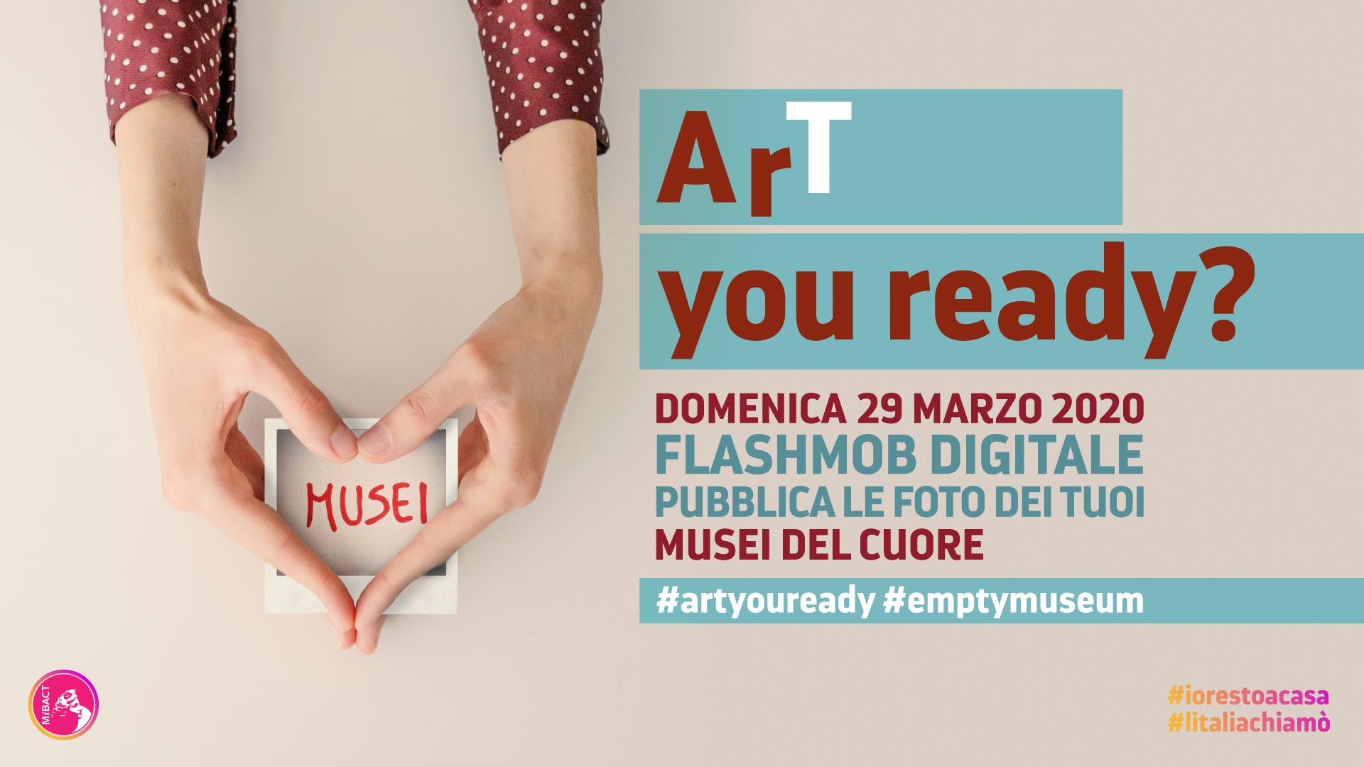 ArT you ready? il flashmob fotografico del patrimonio culturale italiano su Istagram