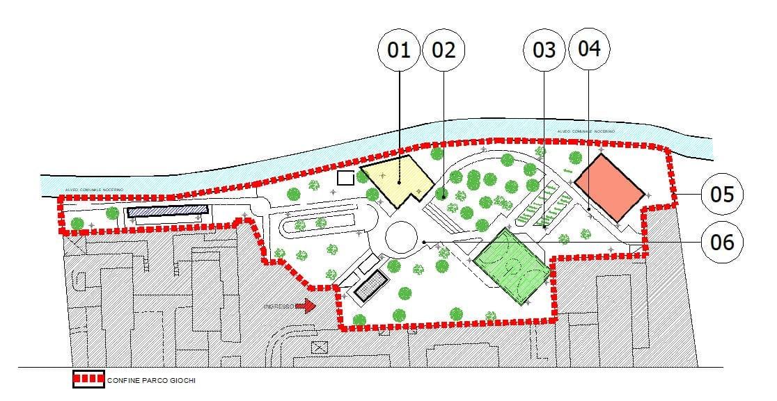 Nocera Inferiore – approvato il progetto per riqualificare il Parco Canzolino di Villanova