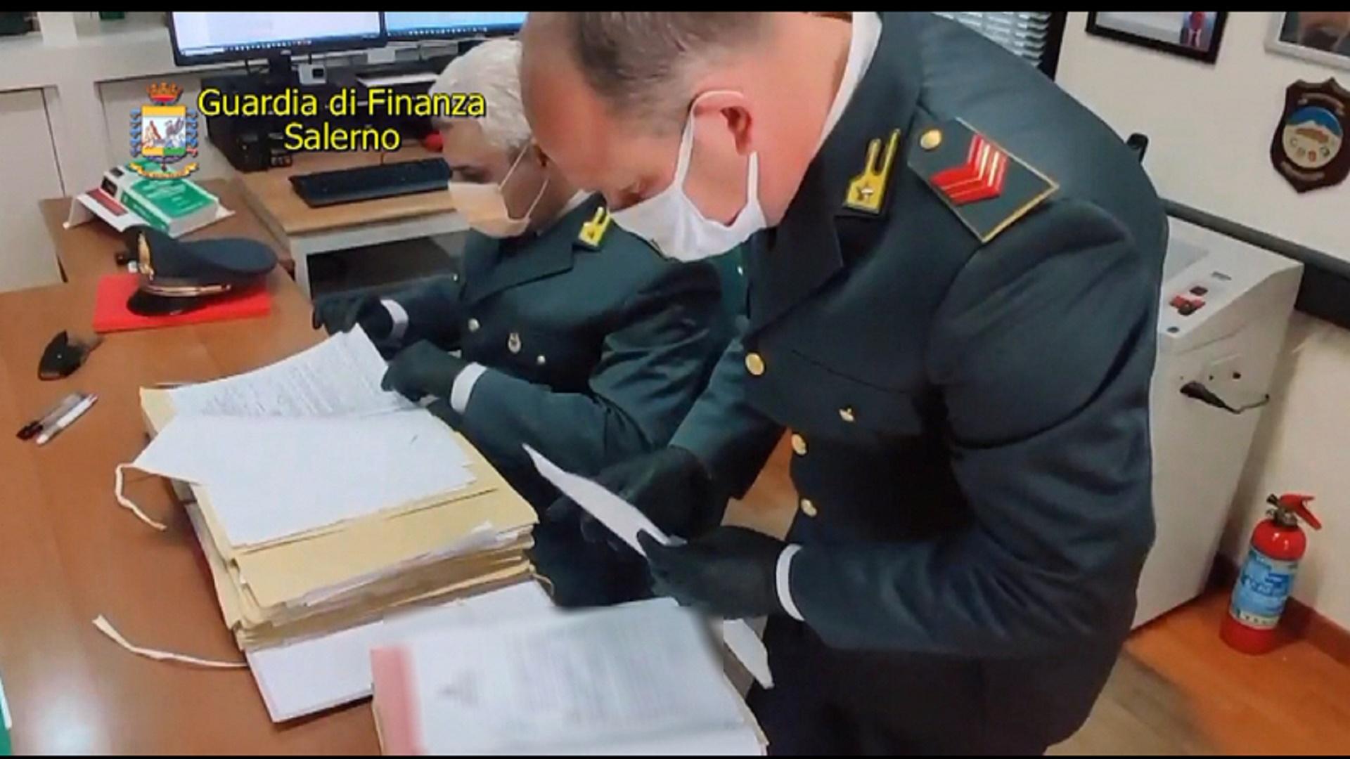 Operazione Pagani-Scafati-Poggiomarino. Bancarotta fraudolenta e sottrazione al pagamento delle imposte