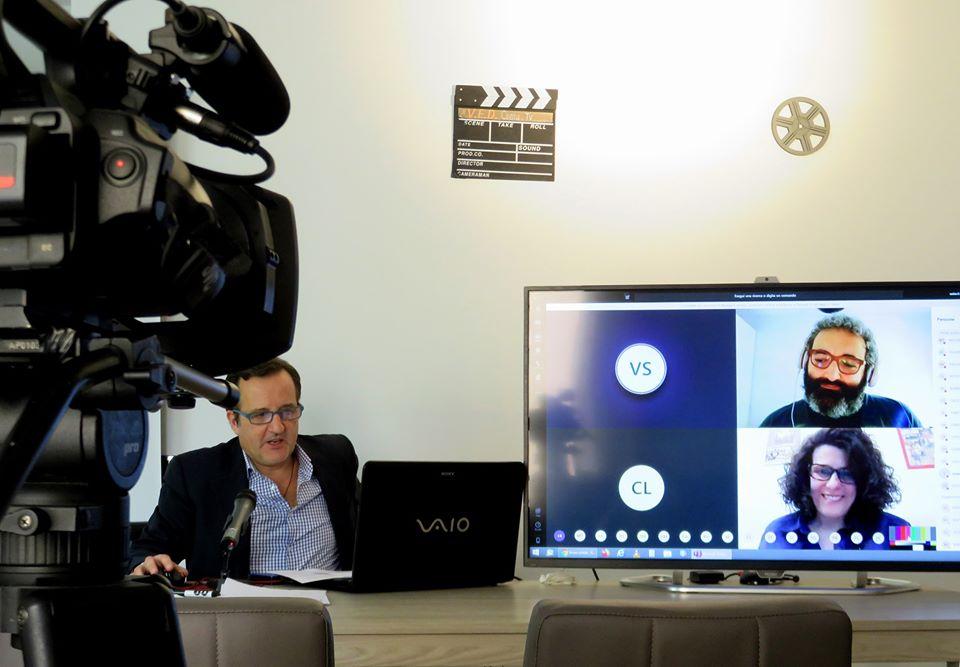 Lo sceneggiatore e video editor Italo Scialdone dal suo osservatorio francese incontra a distanza gli studenti dell'Orientale di Napoli