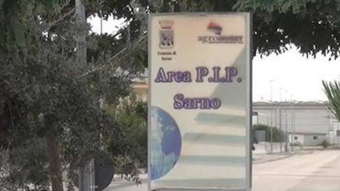 Sarno – Zona industriale, si parte