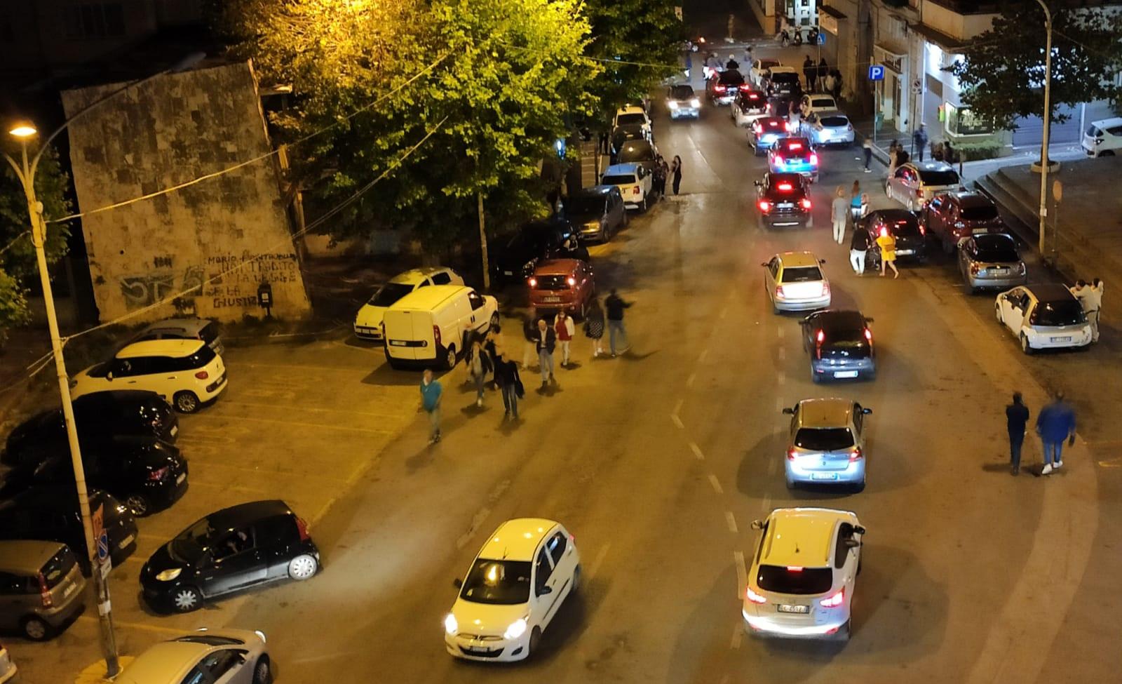 Castellammare – domenica all'insegna del caos