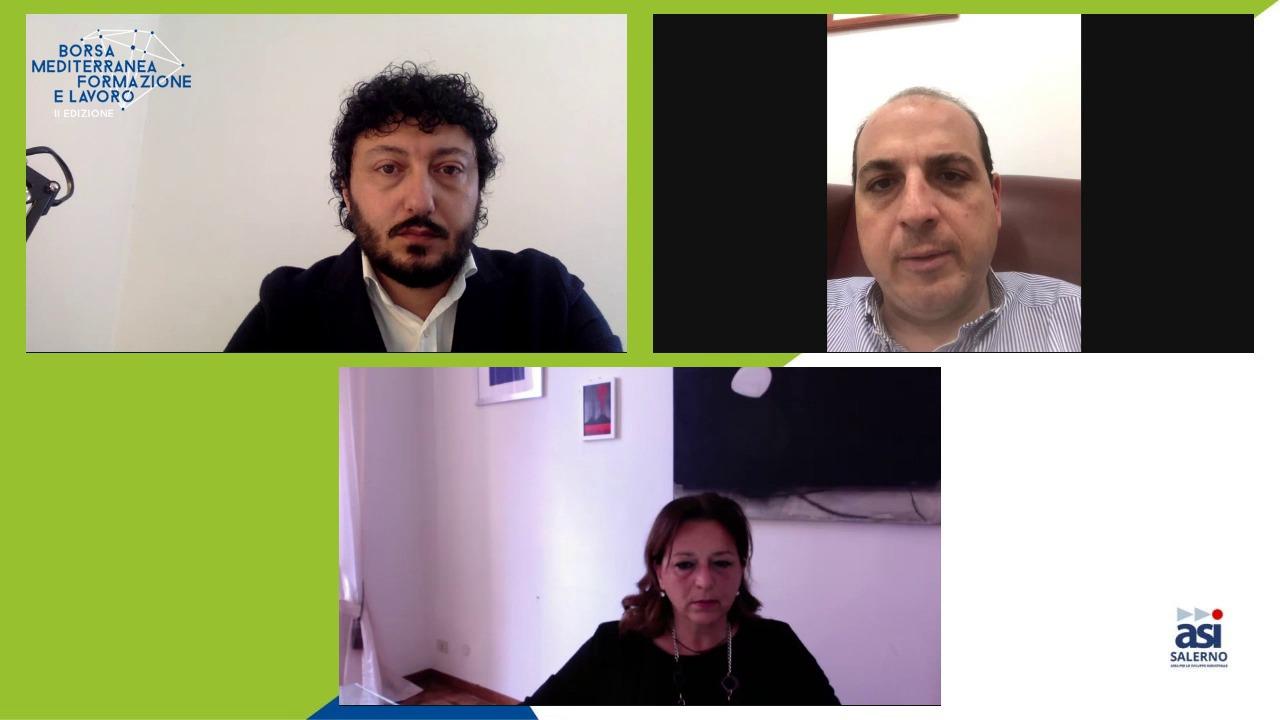 """""""BMFL 2020"""" – Focus Imprese, l'assessore Fascione e il presidente ASI Salerno Visconti: """"In Campania ecosistema virtuoso per le aziende. Bisogna investire sulle competenze"""""""