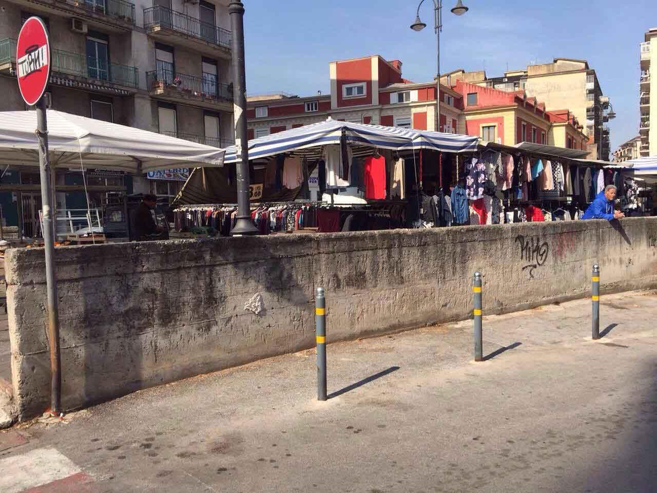 Nocera Inferiore – ripartito anche il mercatino di via Matteotti