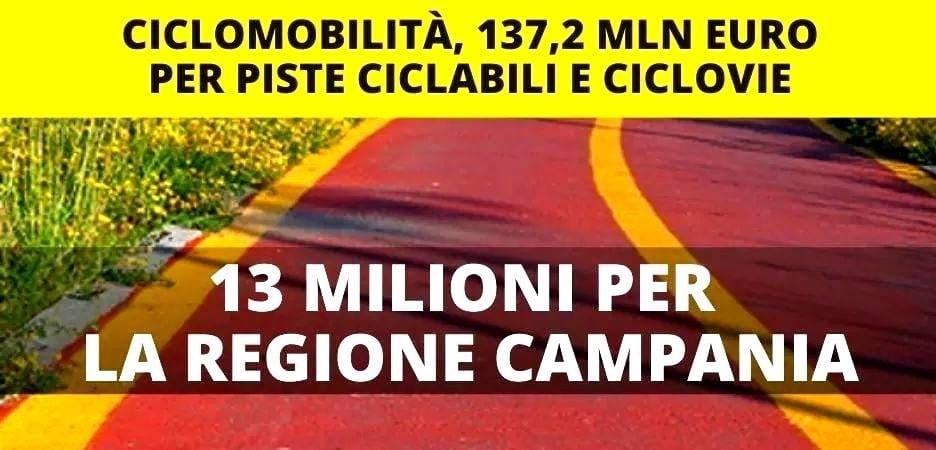 Piste ciclabili: la grande occasione della Campania