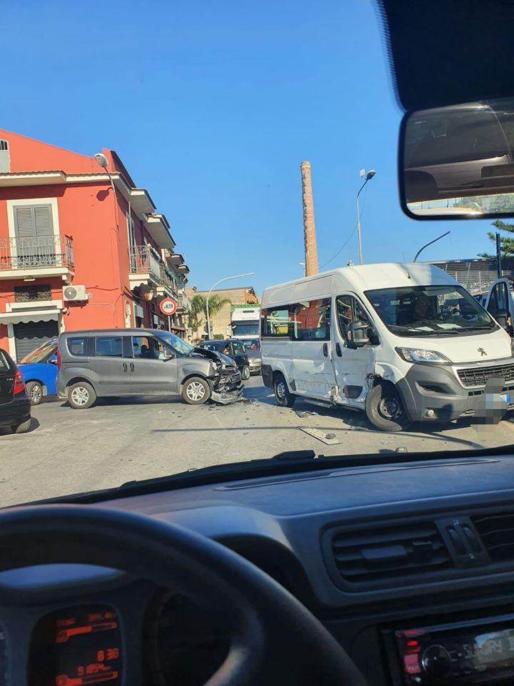 S.Egidio: incidente in mattinata, traffico in tilt