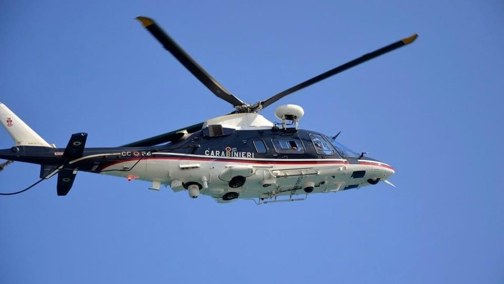 Elicottero sul Rione Poverelli, controlli a tappeto dei carabinieri