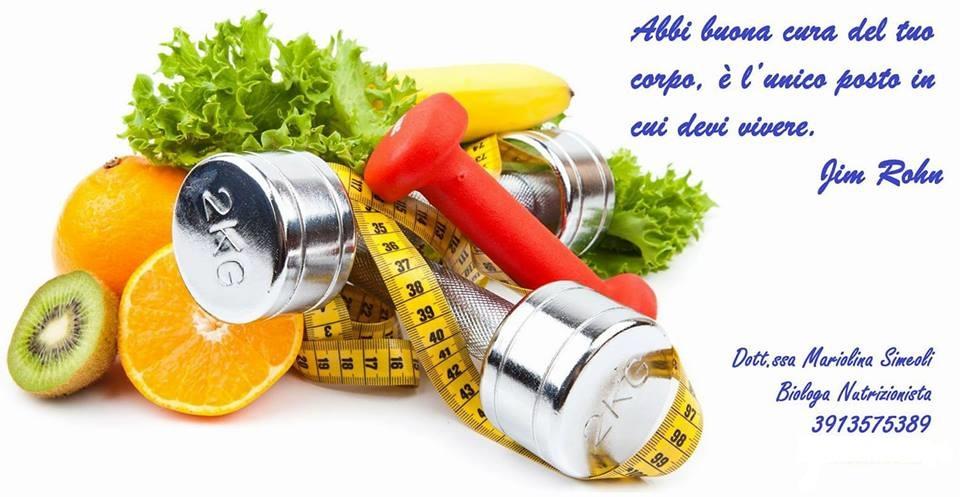 Più Belli Più Sani – Oggi insalatona – di Mariolina Simeoli
