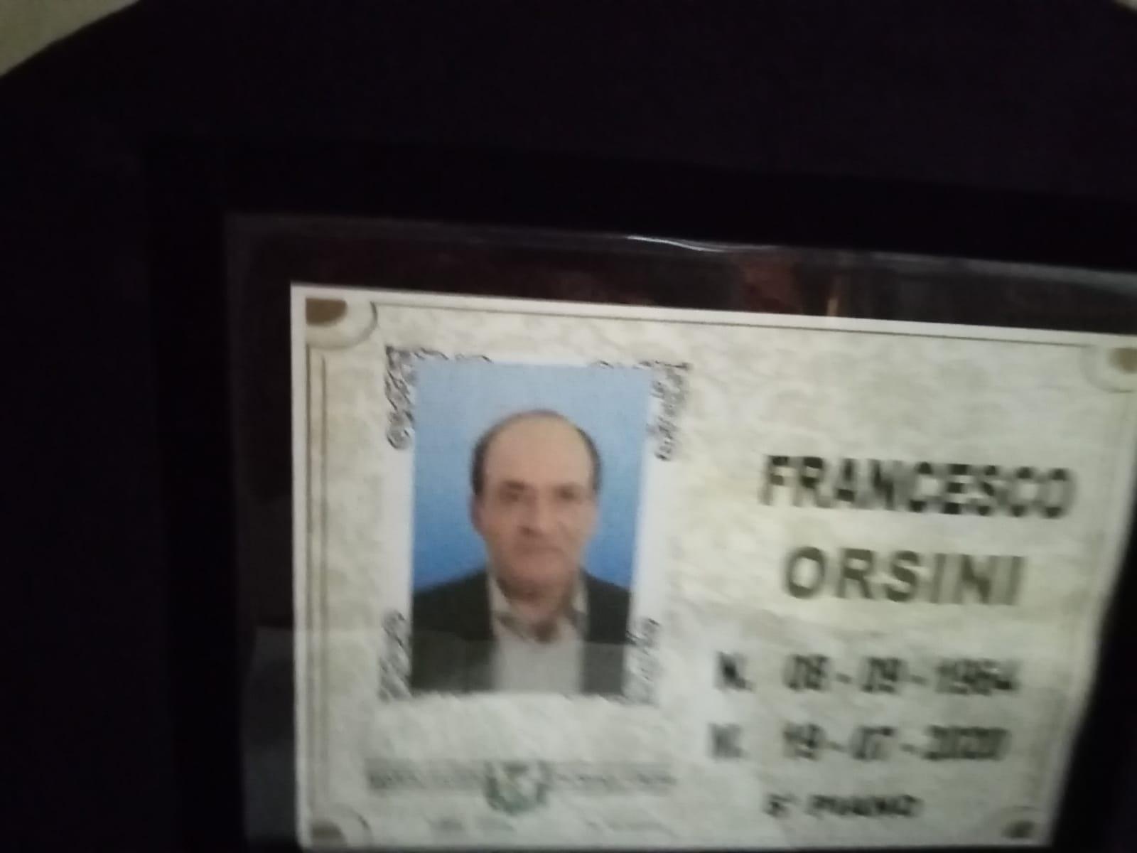 Nocera Inferiore: addio a Franco Orsini, una persona perbene