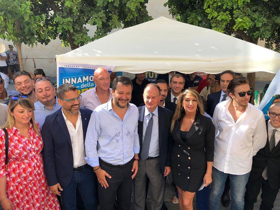 Salvini: De Luca da settembre farà la spalla di Crozza