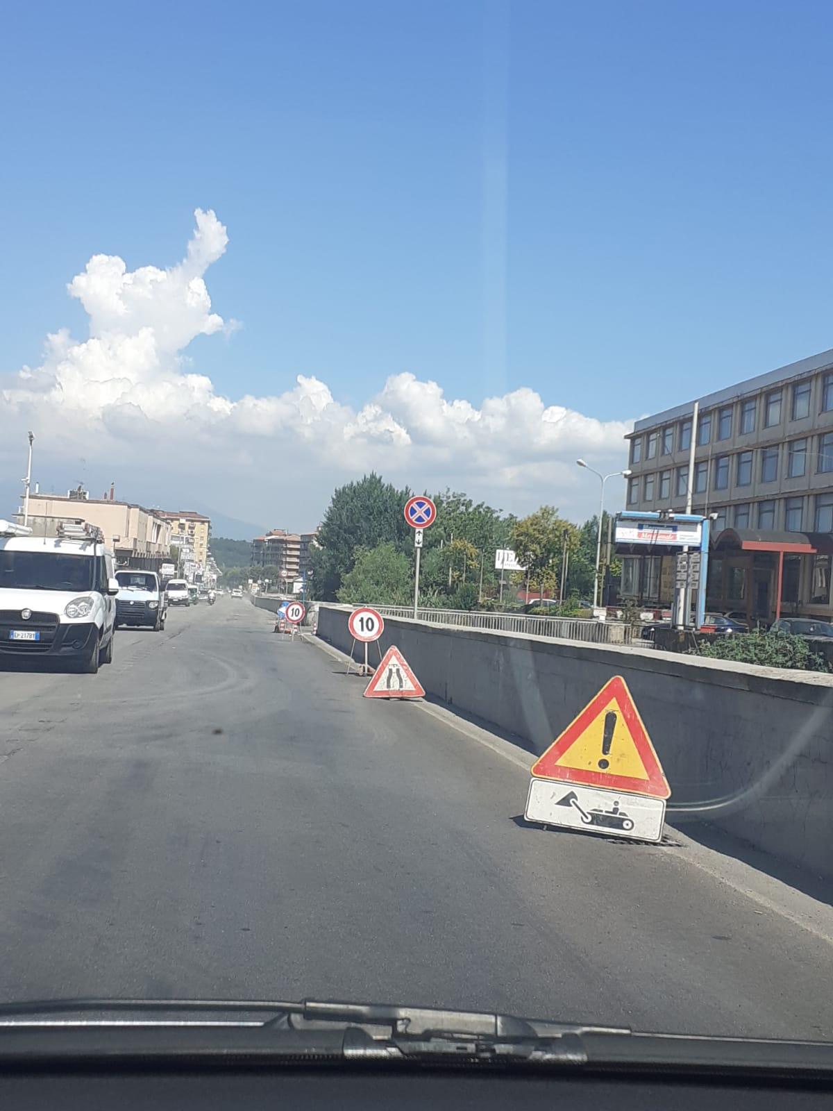 Nocera Superiore: il primo tratto d'asfalto non si scorda mai