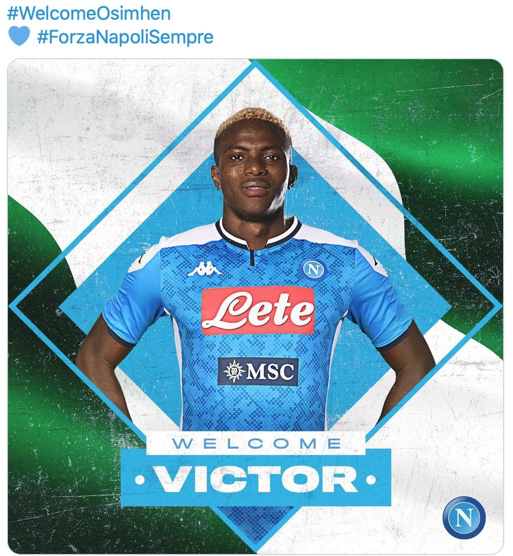 Napoli: Osimhen è tuo!