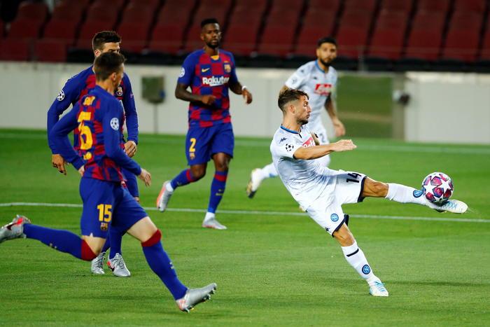 Barcellona-Napoli 3-1: addio sogni di gloria