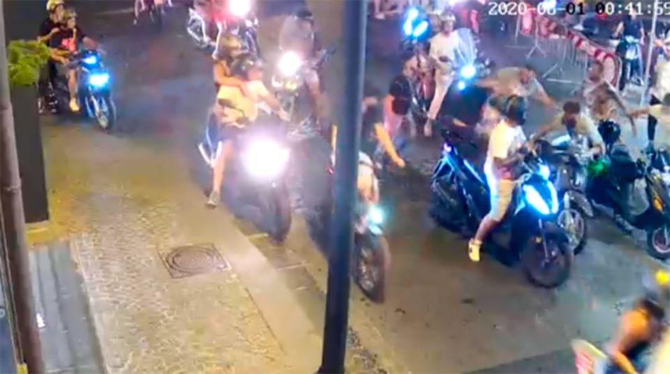 Castellammare: ecco gli aggressori del carabiniere