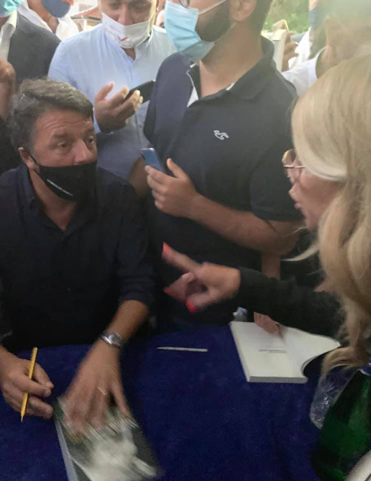 Salerno: il solito Renzi, spavaldo e chiacchierone