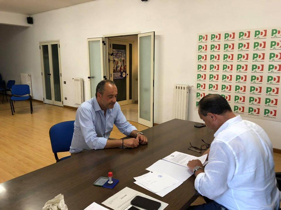 Nocera Inferiore, PD: Enzo Petrosino ha firmato la candidatura