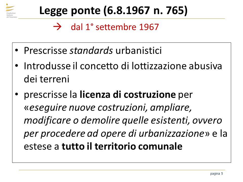 6 agosto 1967: la legge Ponte e la notte dei tanti permessi…