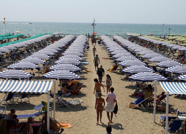 Vacanze all'italiana ma forte assenza degli stranieri