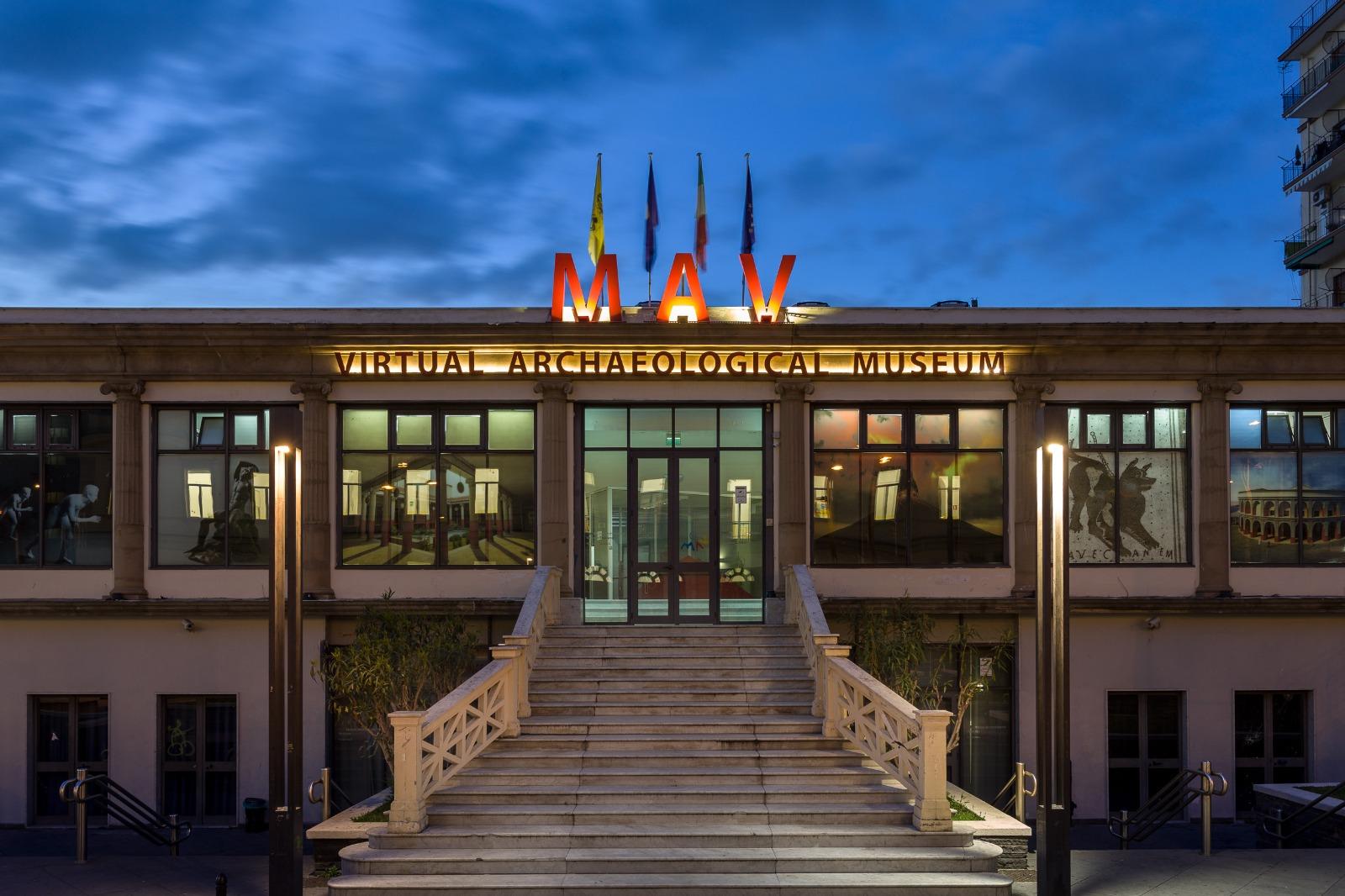 Ad agosto il Museo Archeologico Virtuale di Ercolano inaugura l'apertura serale del giovedì