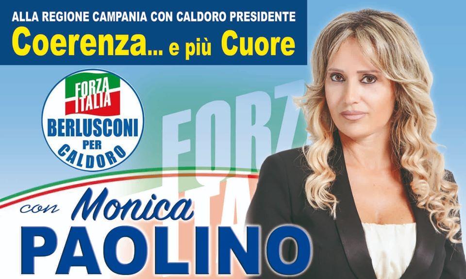 Scafati: Monica Paolino resta in campo, di nuovo candidata alla Regione