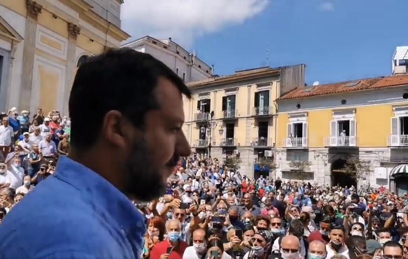 Salvini: una mattina da dimenticare!