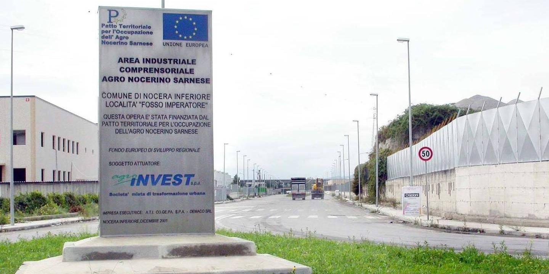 Nocera Inferiore: zona industriale, scatta la diffida