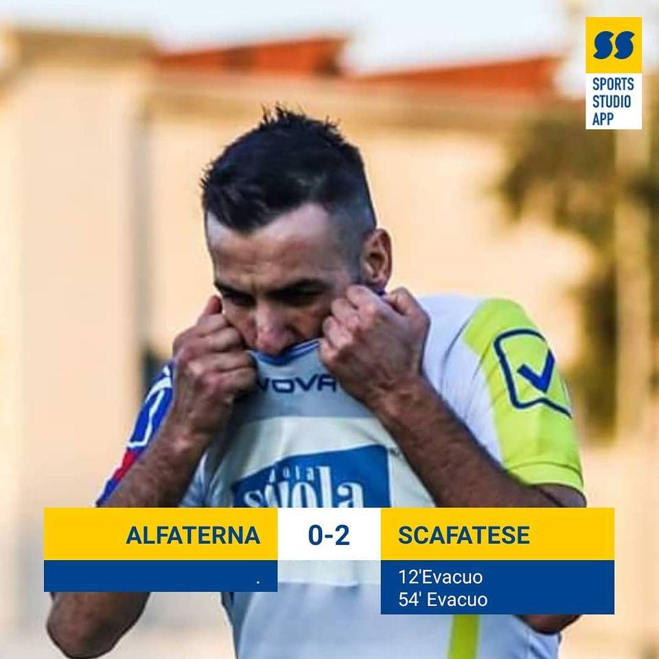 Coppa Italia Eccellenza: Alfaterna-Scafatese 0-2, tutto nel segno di Evacuo