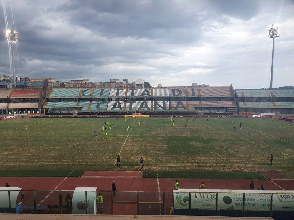 Serie C, Catania-Paganese 1-1, impresa sfiorata