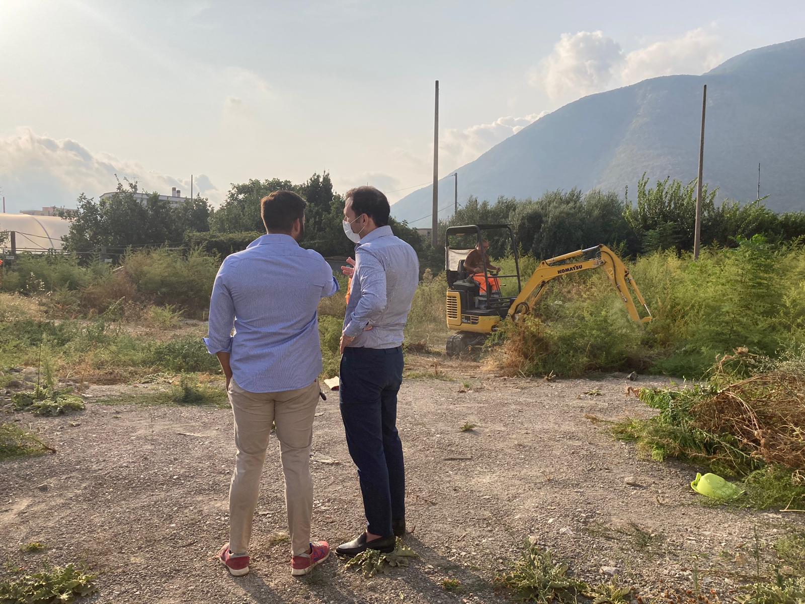 Nocera Superiore: primi passi verso la nuova stazione dei carabinieri