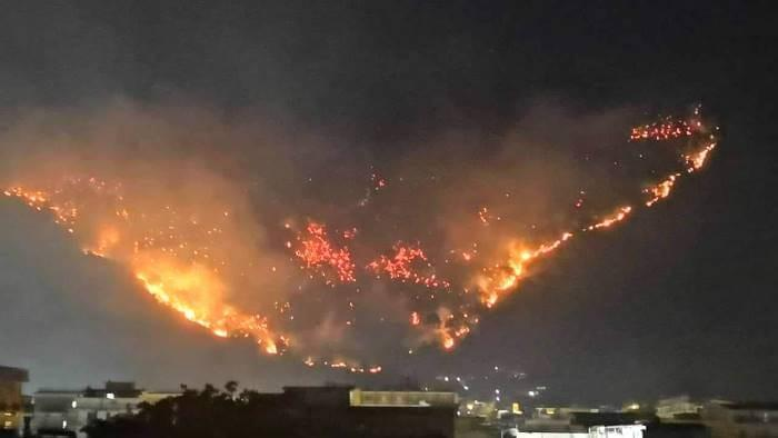 Nocera Superiore: incendio Cupa Belvedere, quando i disastri si ripetono