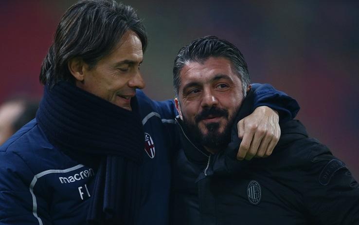 Serie A: Gattuso e Inzaghi commentano il calendario