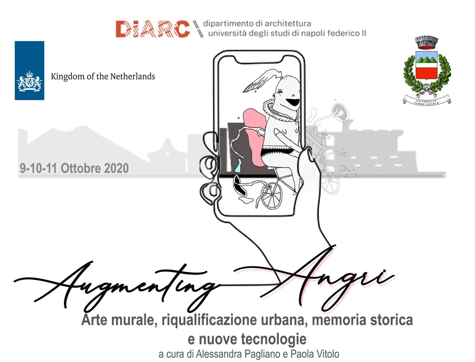 Aumenting Angri: la città salernitana aumenta la sua arte. Progetto di arte urbana sostenuto dai Paesi Bassi