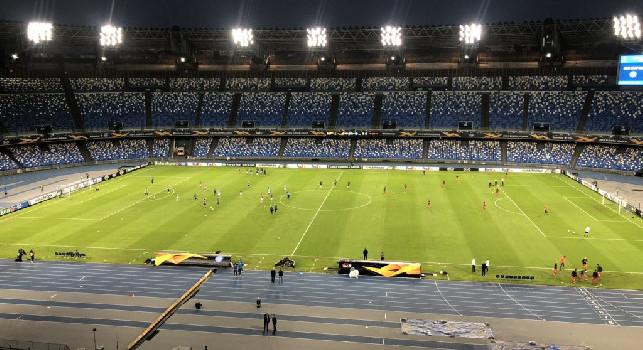 Europa League: Napoli-Az Alkmaar in tempo reale