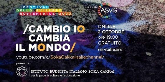 Festival dello Sviluppo sostenibile: Cambio io, cambio il mondo, un film che racconta come la trasformazione nasca dall'azione di ognuno