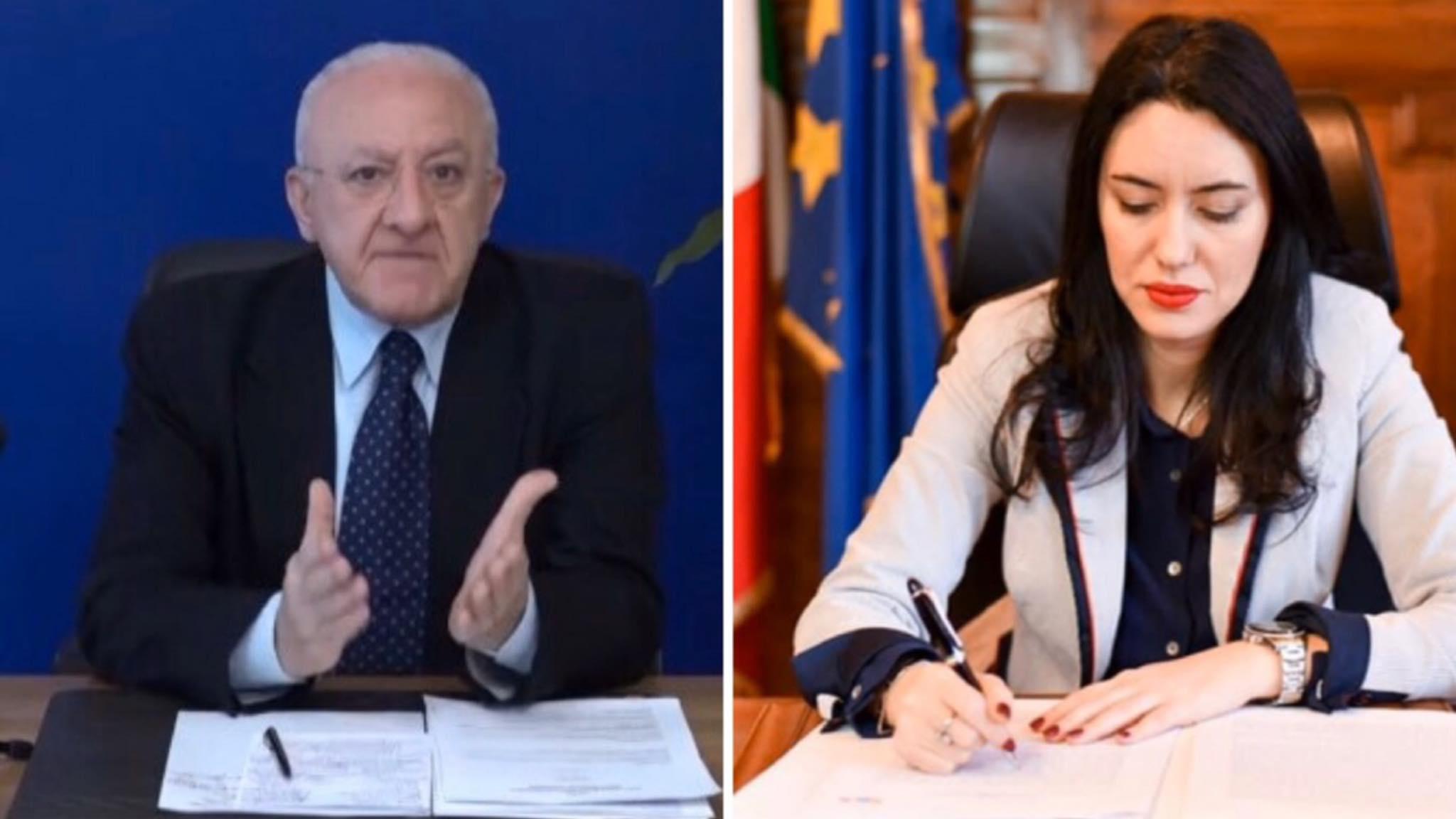 Stop alle scuole dell'infanzia in Campania a partire da lunedi'