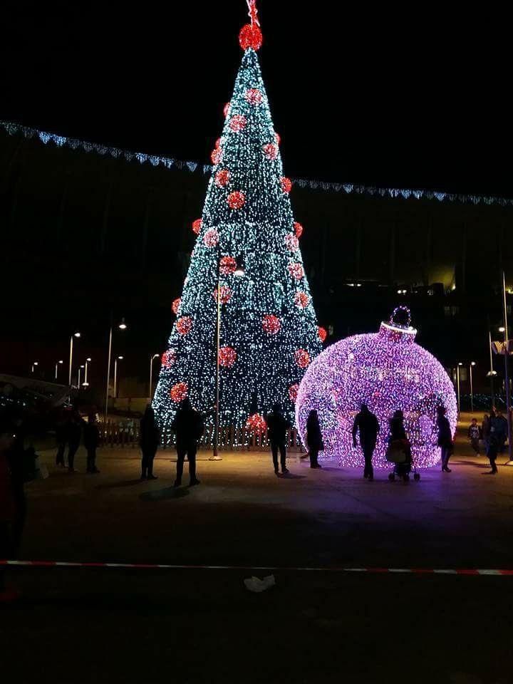 Nocera Inferiore: luci di Natale a Parma