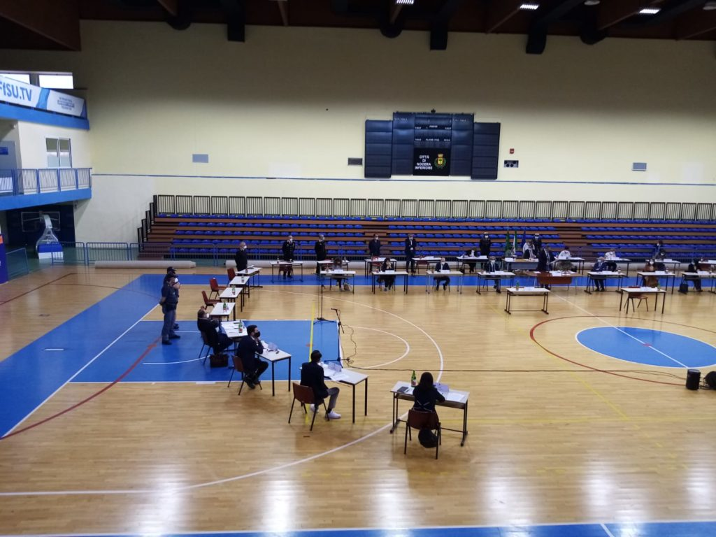 Nocera Inferiore: il 18 consiglio comunale al Palasport