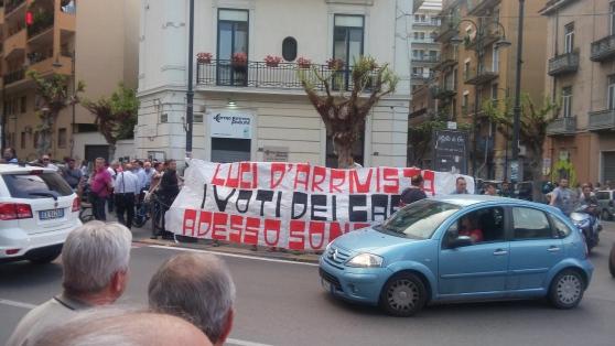 Nocera Inferiore: iniziato il processo ai contestatori di De Luca