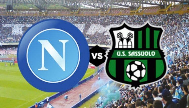 Serie A, Napoli-Sassuolo in tempo reale