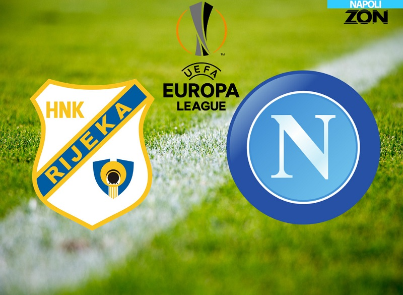 Europa League: Rijeka-Napoli in tempo reale