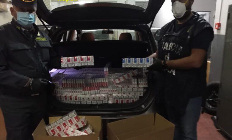 Contrabbandiere fermato a Nocera con 140 chili di bionde